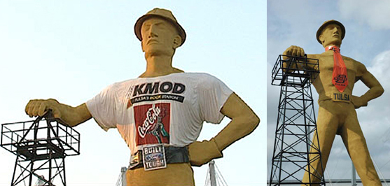 golden driller