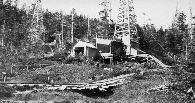 first Alaska oil well
