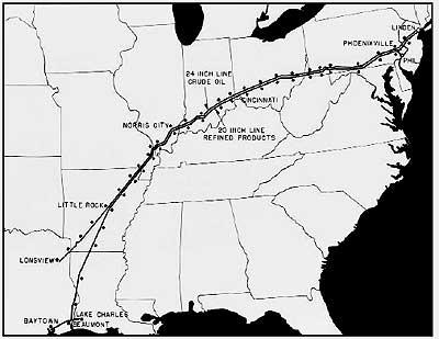 petroleum history august