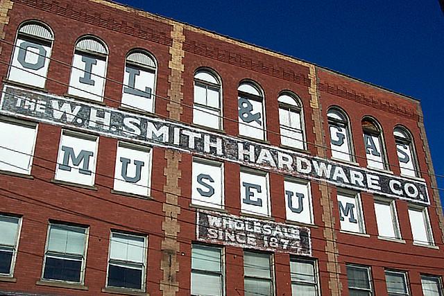 oil scouts Oil & Gas Museum, Parkersburg, W. Va.