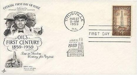 Centennial Oil Stamp