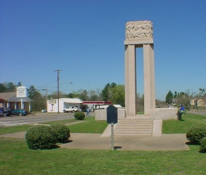 New London Texas School Explosion monument from 1939