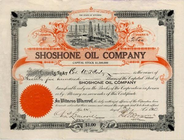 buffalo bill oil company