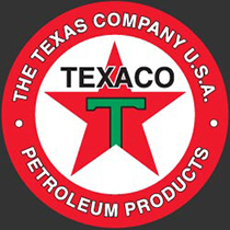The Texas Company registered its Texaco trademark in 1909.