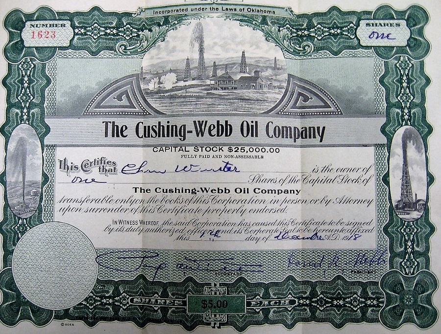 Cushing-Webb Oil Company - American Oil & Gas Historical Society