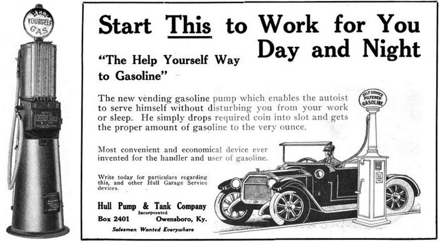 Coin-Operated Gas Pumps - American Oil & Gas Historical Society