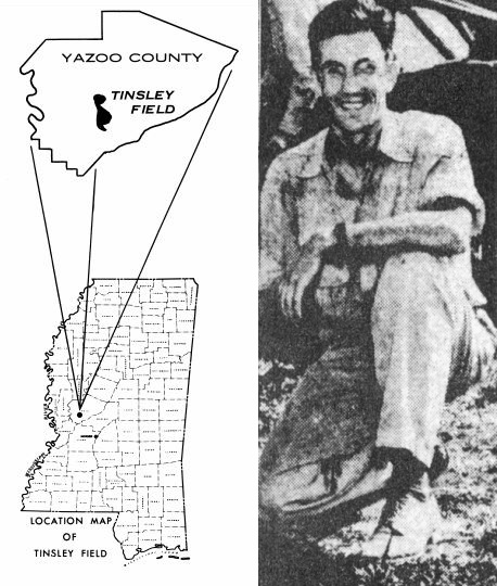 first Mississippi oil well geologist fred mellen