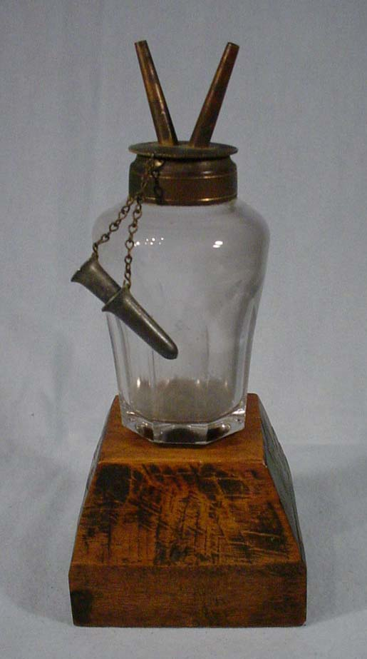Camphene to Kerosene lamp